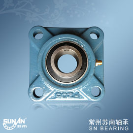 China F200 UCF205 Cast Iron Pillow Block Bearing With Flange , Mine Machinery Bearings supplier