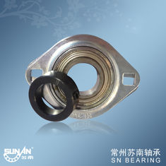 China Vibrating Machine Pressed Steel Bearing Housing With Square Two - Bolt SAPFL206 supplier