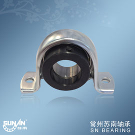 China 2 Bolt Stamped Steel Pillow Block Bearings SAPP207 , Food Bearing supplier