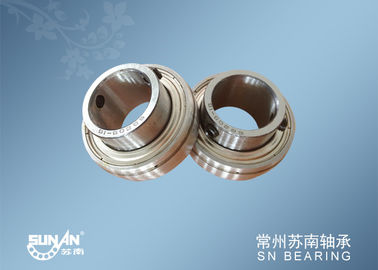 China Industrial Insert Bearings , Farm Vehicle And Excavator Bearings SB205-16 supplier
