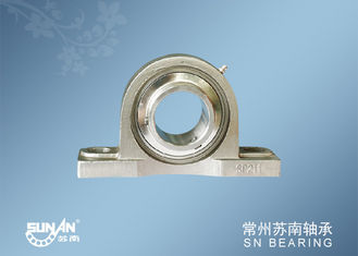 China Dustproof Stainless Steel Pillow Block Bearing / Food Bearings SSUCP211 supplier