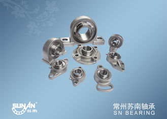 China Small Mounted Ball Bearings Unit / Stainless Steel Pillow Block Bearing supplier