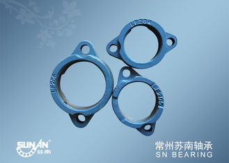 China LF200 Bearing Blocks Housings Cast Iron Two Bolt Flange Mount Bearings supplier