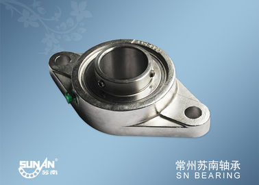 China 9CR18 Stainless Steel Pillow Block Bearing Units SSUCFL211 / S304 Bearing Housings supplier