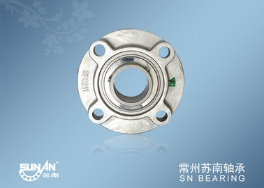 China Corrosion Resistance Mounted Stainless Steel Pillow Block Bearing Units Round Housing supplier
