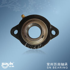 China Custom Cast Iron Pillow Block Bearing For Chemical Machinery SBLF205-16 supplier