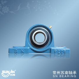 China High Precision Cast Iron Pillow Block Bearing UCP206 , Textile Bearing factory
