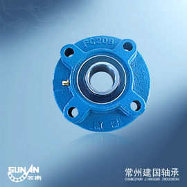 China Ball Bearing Unit / Cast Iron Pillow Block Bearing With Locking Collar UELFC206 / HCFC206 factory
