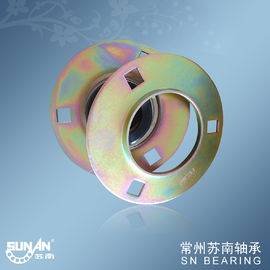China Pressed / Stamped Steel Pillow Block Bearings With Locking Collar SAPF207 UEPF207 distributor