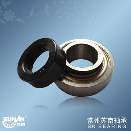 High Efficient 1 1/8 Ball Bearing , Insert Bearings With Eccentric Bushing SA206-18