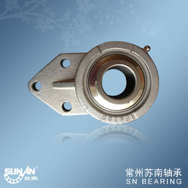 Durable Stainless Steel Pillow Block Bearing SSUCFB206 , Building Bearings
