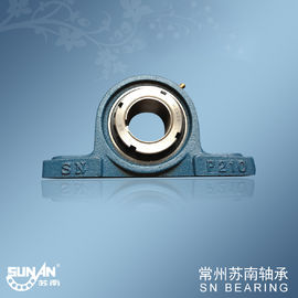 High Efficiency Cast Iron Pillow Block Bearing , Plummer Block Bearing Housing UKP210