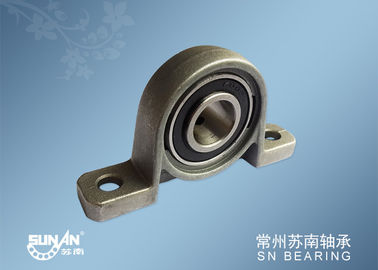 China Mounted Bearing Units , Zinc Alloy Pillow Block Ball Bearing Flange Block KP005 KP002 distributor